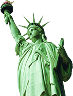 adjustment of status - statue of liberty image