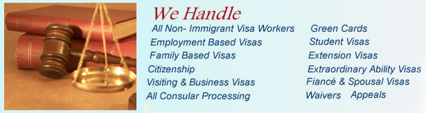 we handle these immigration services image