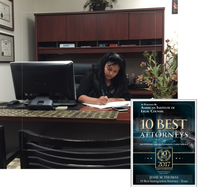 Law Office of Jessie M Thomas   Immigration Attorney
